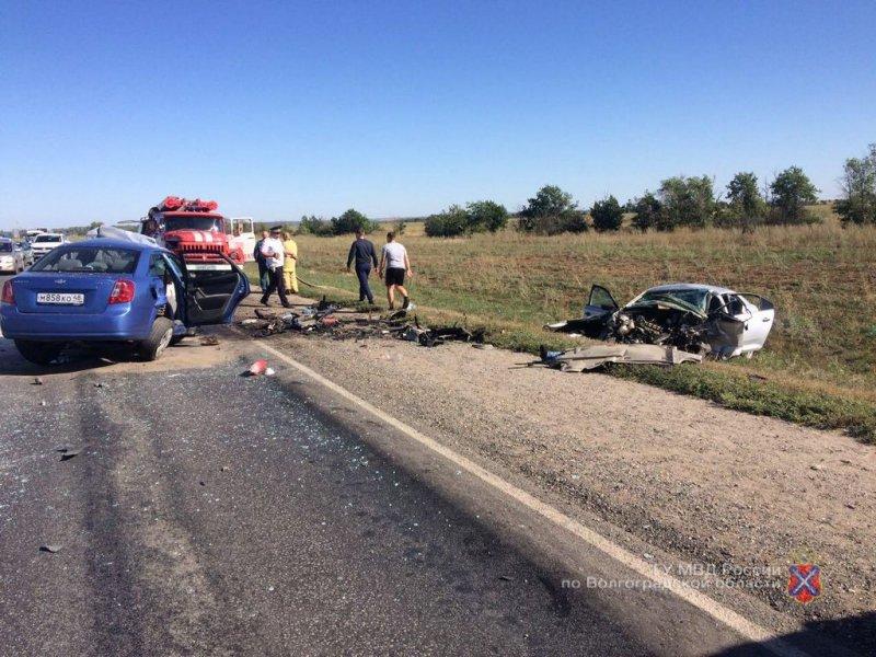 Оба водителя иномарок погибли влобовом ДТП вИловлинском районе