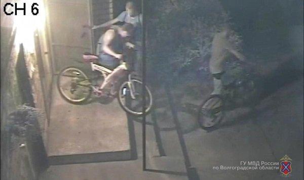 ВоФролово задержали банду велограбителей
