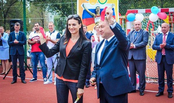 Вволгоградском регионе строятся многофункциональные спортивные площадки