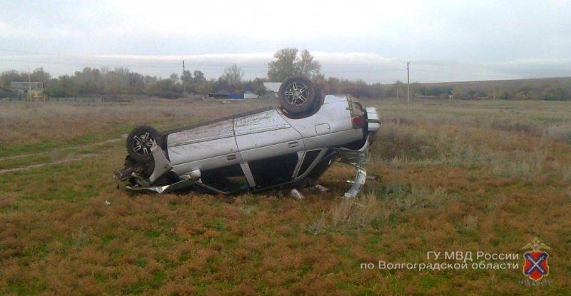 ВКумылженском районе шофёр ВАЗа из-за эпилептического припадка улетел вкювет 0
