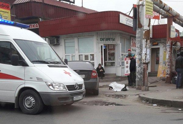 Навходе Качинского рынка вВолгограде скончался мужчина