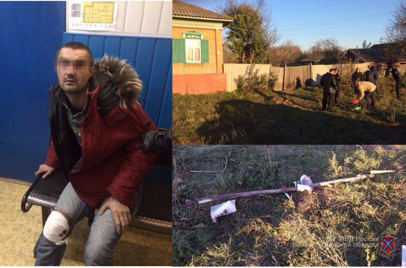 В Елани самоубийца-неудачник напал на полицейских с топором и косой