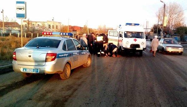 ВКамызяке нетрезвый шофёр сбил 79-летнюю пенсионерку
