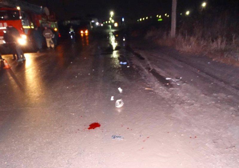 ВАстрахани иностранная машина сбила пешехода мужчине оторвало ногу