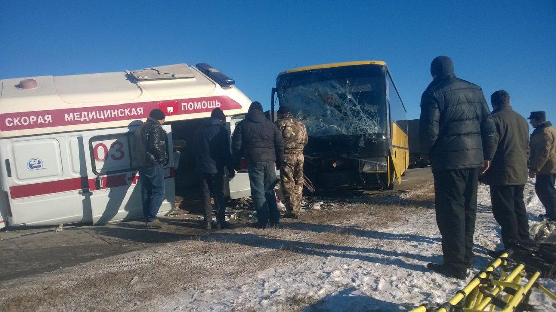 19-летний шофёр «скорой помощи» устроил ДТП вВолгоградской области