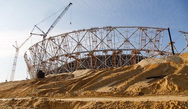 Рабочий трагически умер настройке стадиона «Волгоград Арена»
