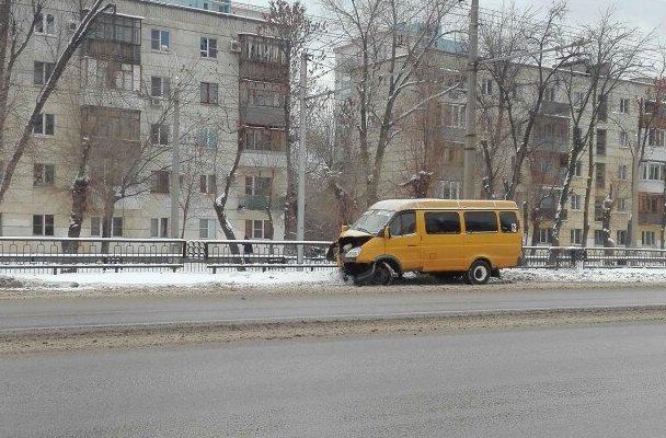 ВВолгограде маршрутчик разбил «Газель» исочинил историю оееугоне