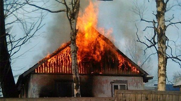 ВВолгоградской области засутки из-за пожара погибли два человека