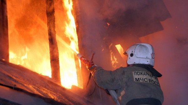 ВОльховском районе мужчина едва не умер впожаре