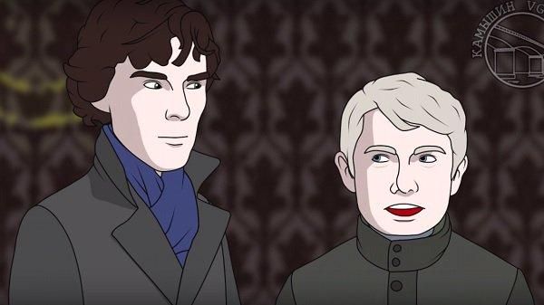 Камышинский аниматор создал мультфильм обутечке серии «Шерлока» всеть