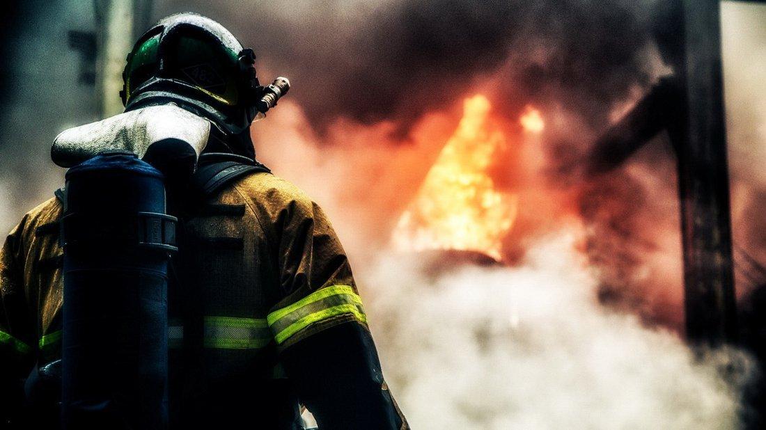ВВолгограде, при пожаре, умер престарелый мужчина