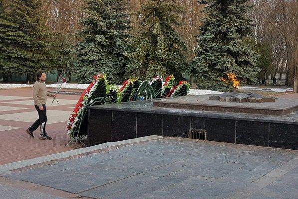 Марафонец изМагнитогорска добрался доКурска стравмированной ногой