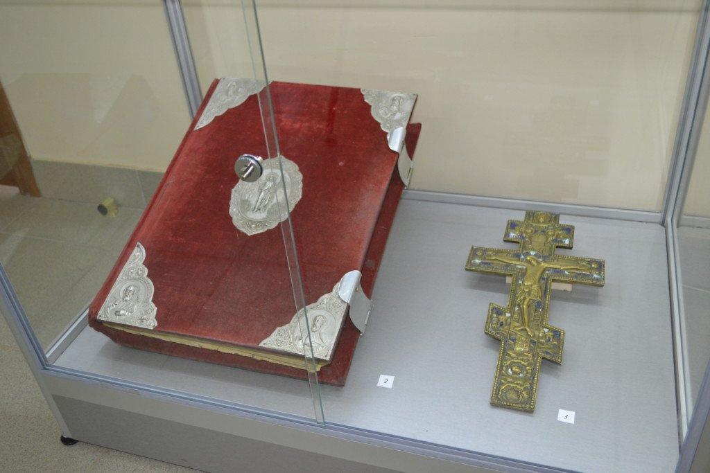 ВВолгограде украли Евангелие икрест справославной выставки