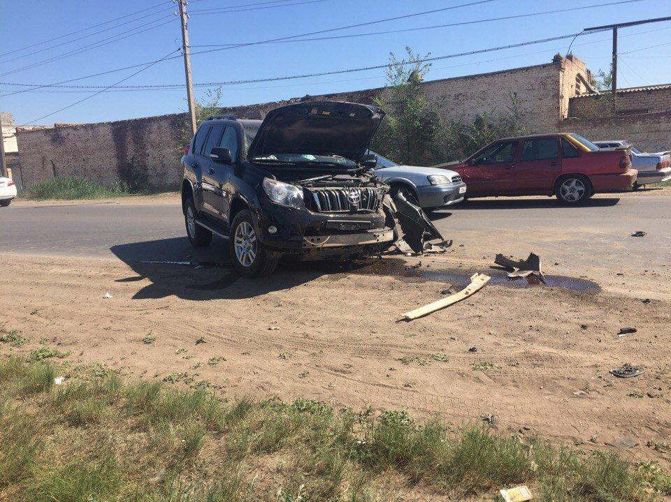 ВАстрахани случилось ДТП, пострадали 4 человека