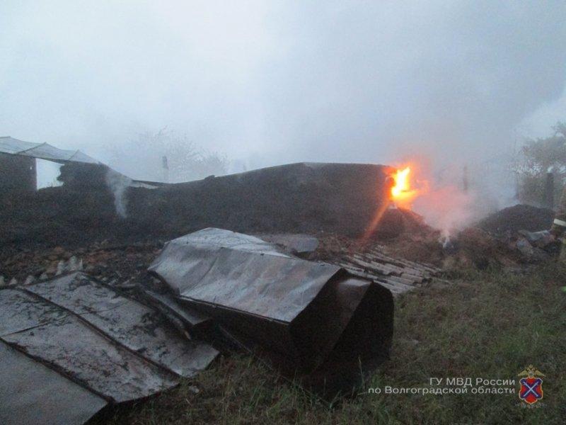 Гражданин Урюпинска заотказ его накормить сжег сарай