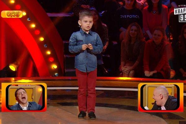 6-летний волжанин Ярик одержал победу наукраинской передаче «Рассмеши комика»