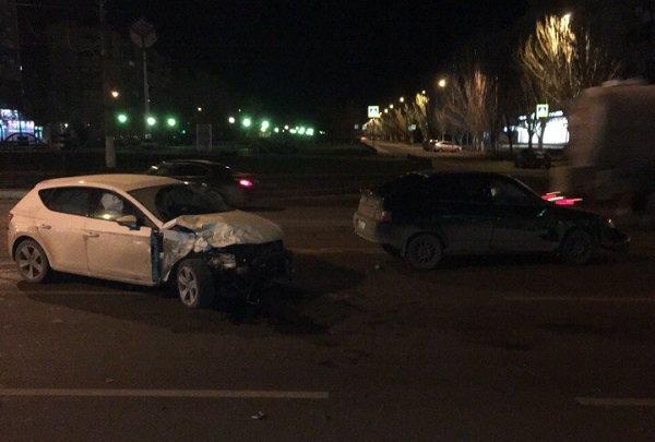 Боулинг из авто: в Красноармейском районе столкнулись пять машин