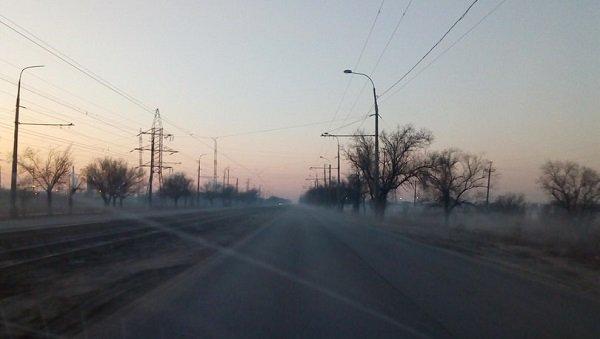 Жители Красноармейского района пожаловались на химическую дымку