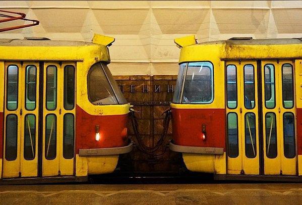 """Скоростные трамваи будут игнорировать станцию """"Мамаев курган"""" до конца недели"""